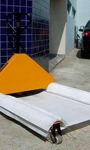 Fábrica de paletes de polietileno
