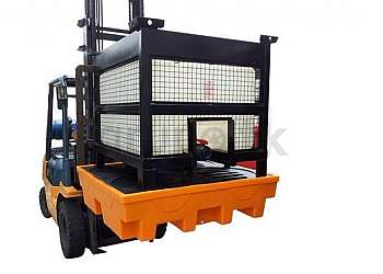 Pallet de contenção para ibc indústria