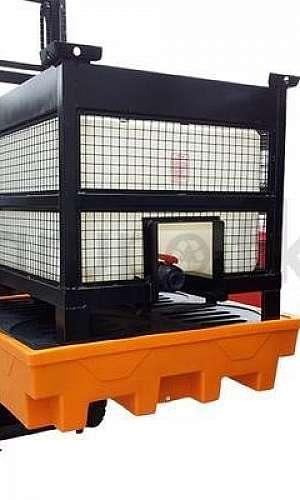 Pallet de contenção para IBCs